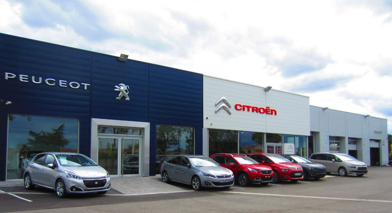 Garage citroen belfort le groupe nedey inaugure la plus for Garage peugeot chelles